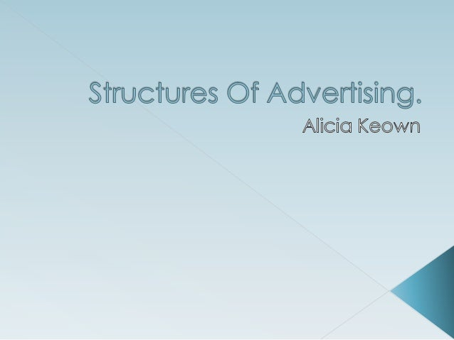 Structures of advertisingg