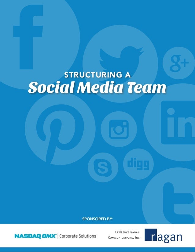 Structuring a social_media_team