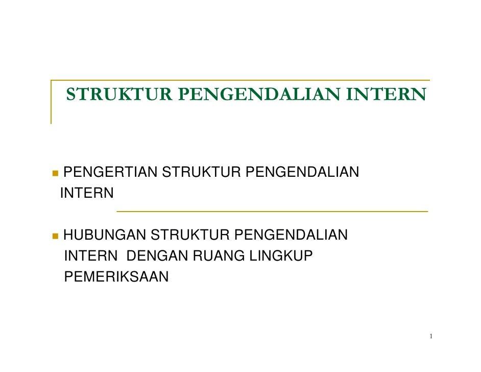 Struktur Pengendalian Intern 2