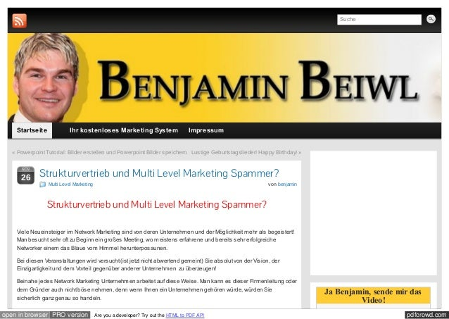 Suche    Startseite             Ihr kostenloses Marketing System                       Impressum   « Powerpoint Tutorial: ...