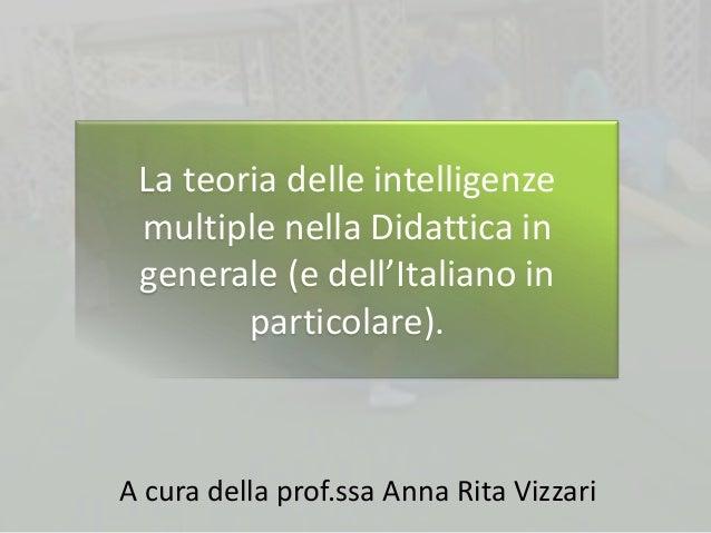 IIMM e Didattica Italiano