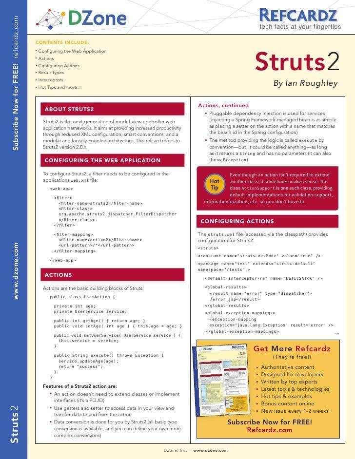 Struts2 Online 100