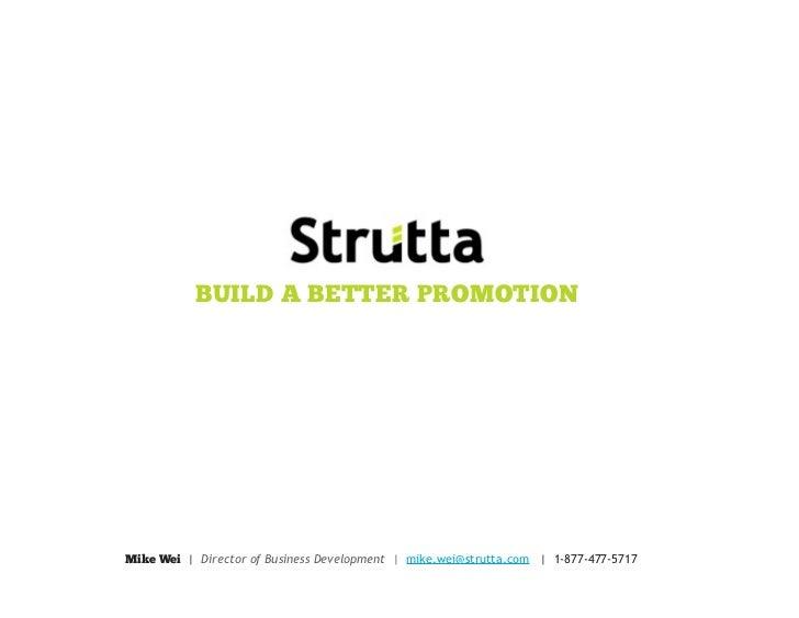 Enhancing User Engagement through Online Promotions - Strutta