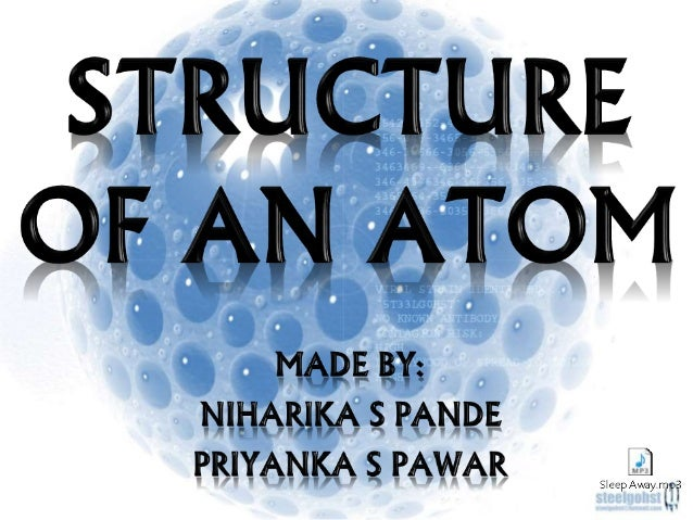 PRESENTATION OUTLINE • History of atom • What is an atom? • Structure of atom • Nucleus of atom • Electrons • Protons • Ne...