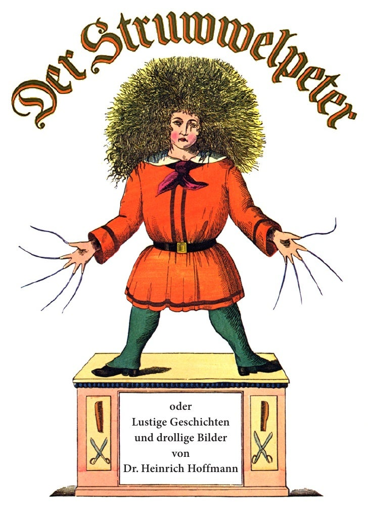 oder Lustige Geschichten  und drollige Bilder          vonDr. Heinrich Hoffmann