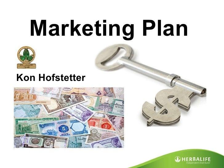 Marketing Plan Kon Hofstetter