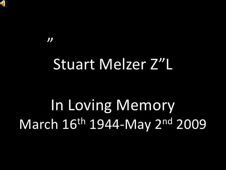 Stuart Melzer Slideshow