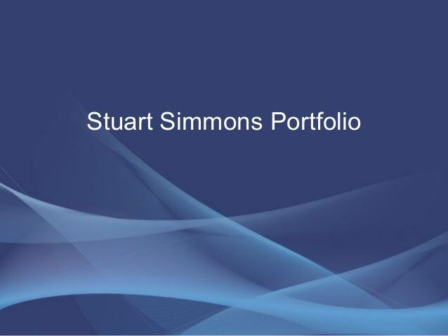 Stuart simmons portfolio rev a
