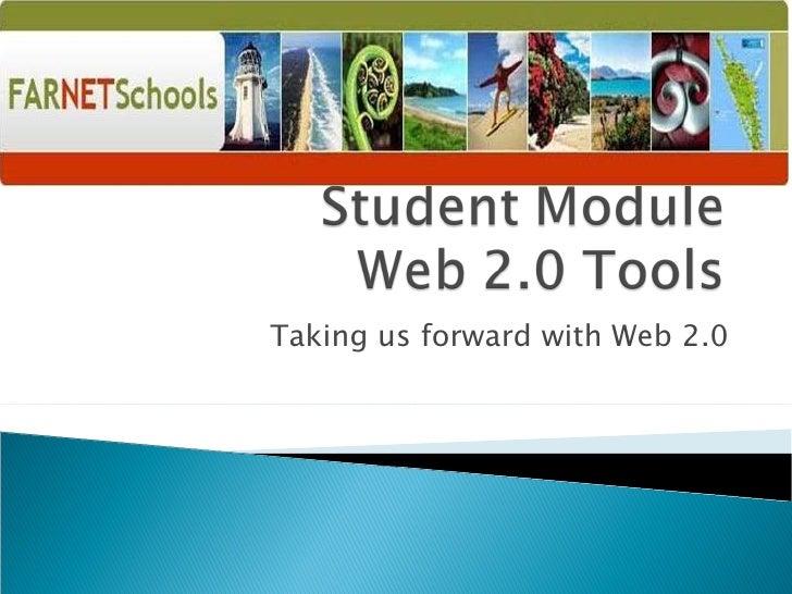 Student Module 2009   Web 2.0 Tools
