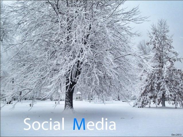 Social Media  Dec 2013