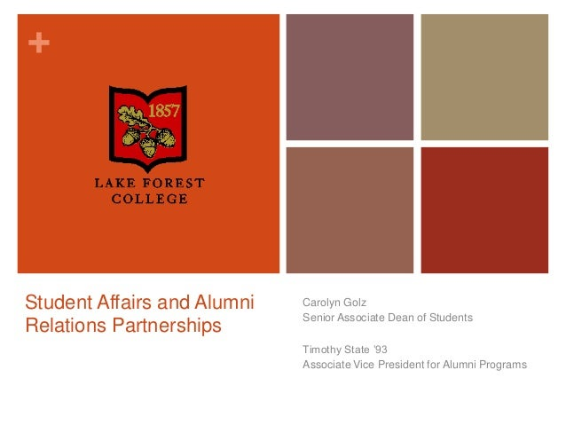 NASPA IV-E: Student Affairs and Alumni Relations Partnerships
