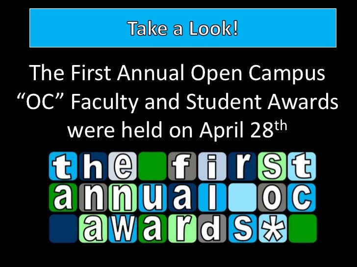 Student and Faculty Awards Ceremony