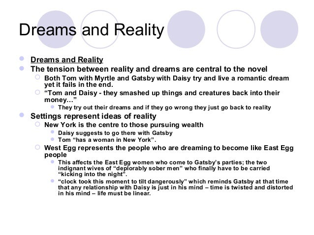 great gatsby winter dreams essay Compare & contrast: winter dreams v the great gatsby dexter v gatsby dexter fell in love with the player, judy when she left him, he was heart-broken.