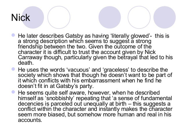 Daisy Buchanan Character Traits