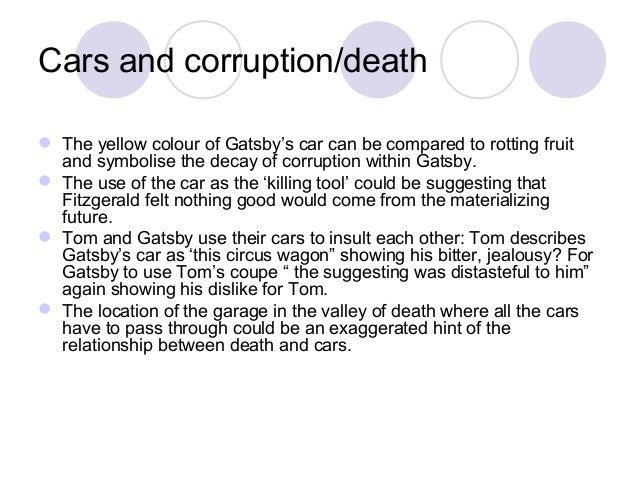 essay great gatsby