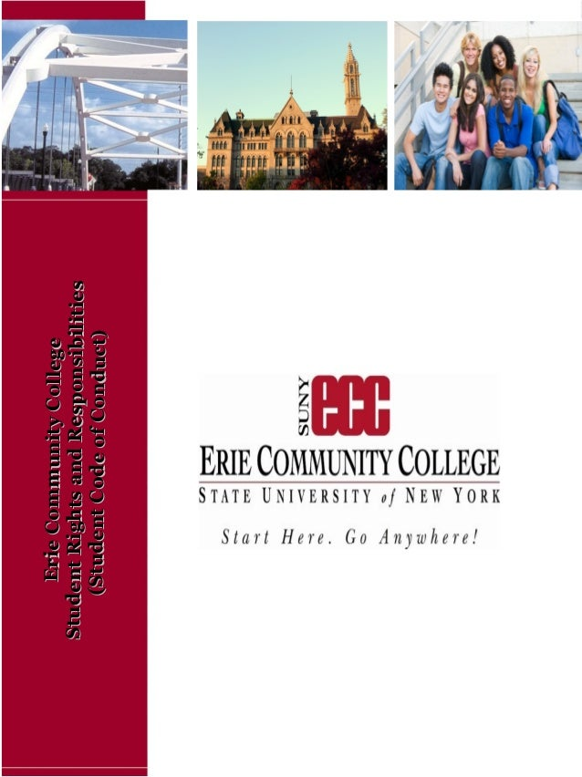 ErieCommunityCollegeErieCommunityCollege StudentRightsandResponsibilitiesStudentRightsandResponsibilities (StudentCodeofCo...