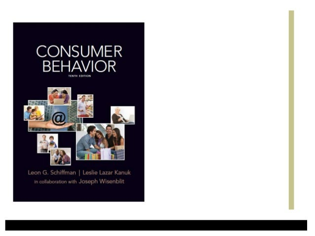 Consumer Behavior • The behavior that consumers display in searching for, purchasing, using, evaluating, and disposing of ...
