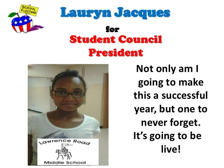 essay for student council president