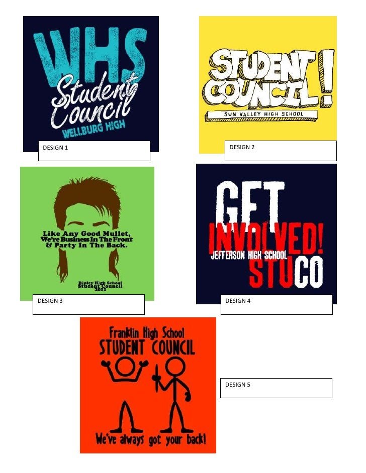 student council t shirt designs
