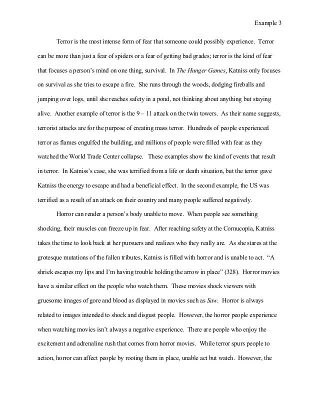 fear of failure essay