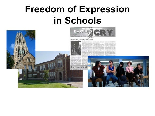 Freedom of Expressionin Schools