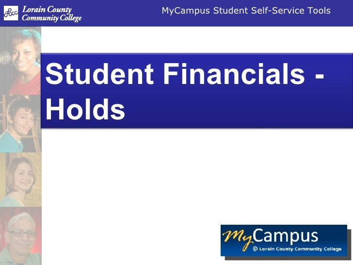 Student Financials - Holds