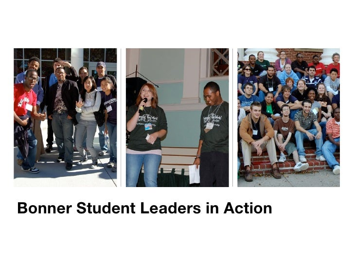 Bonner Student Leaders in Action
