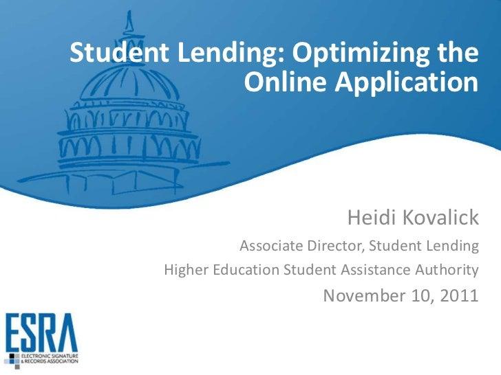 Student Lending