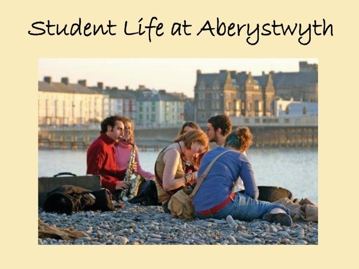 Aberystwyth University; Student Life Presentation