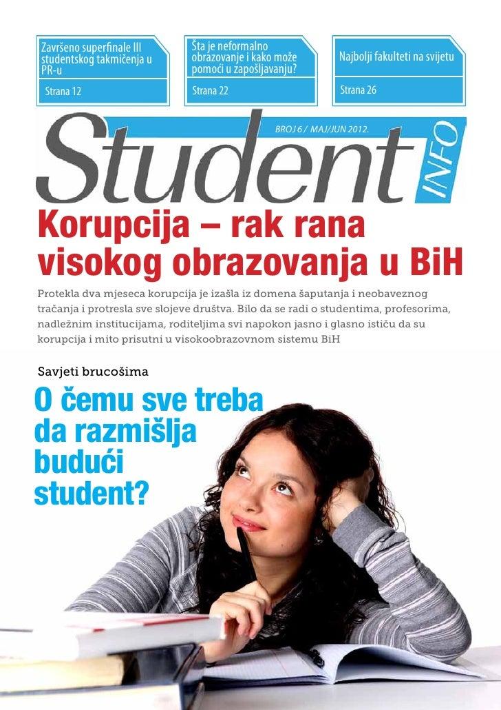 StudentINFO maj/jun 2012