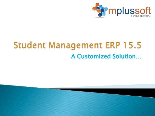 Student Management ERP 15.5