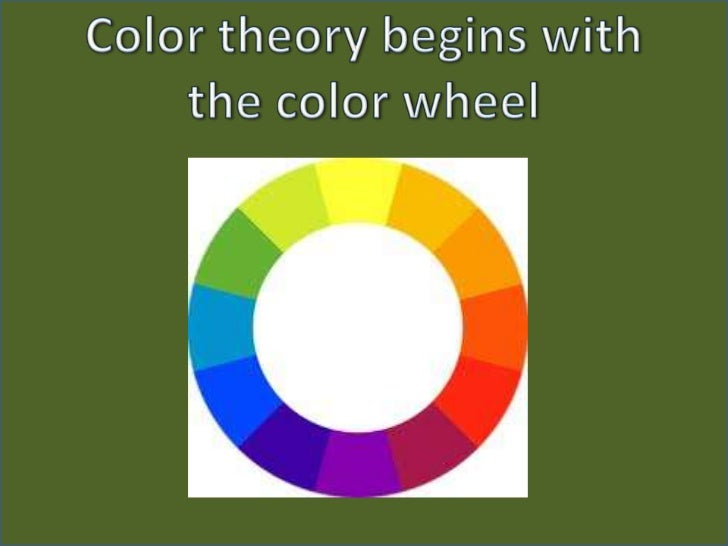 Color Wheel Powerpoint With The Color Wheel