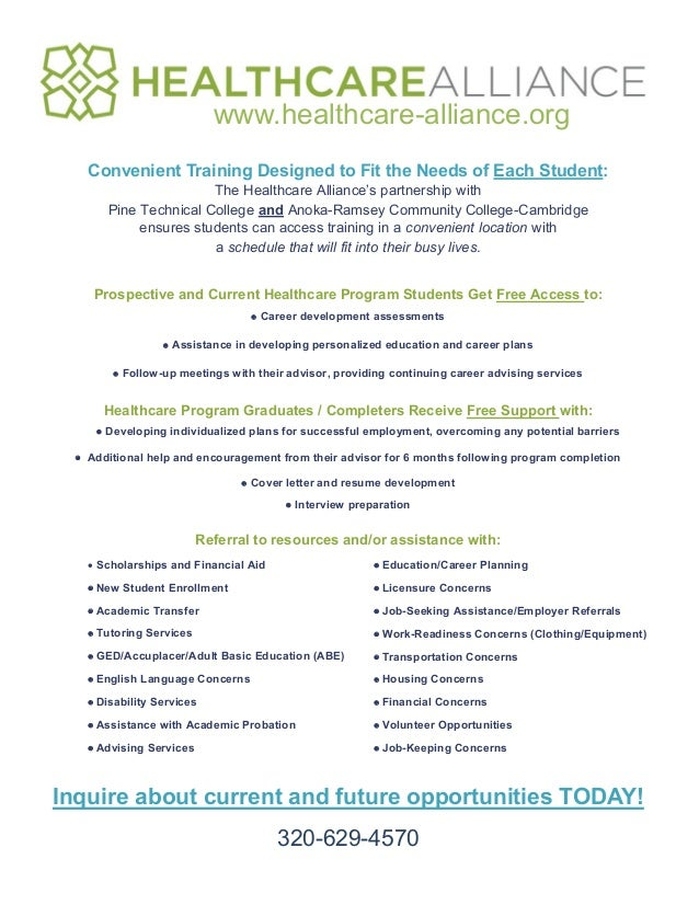 Grant Services Student Resource Flyer