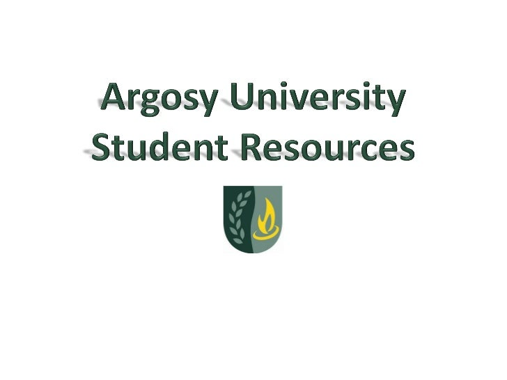 PURPOSEThe Student Resource Center at Argosy University, DC provides assistance to students in need ofacademic and profess...