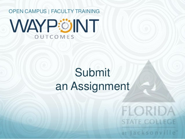 Students   Submit an Assignment