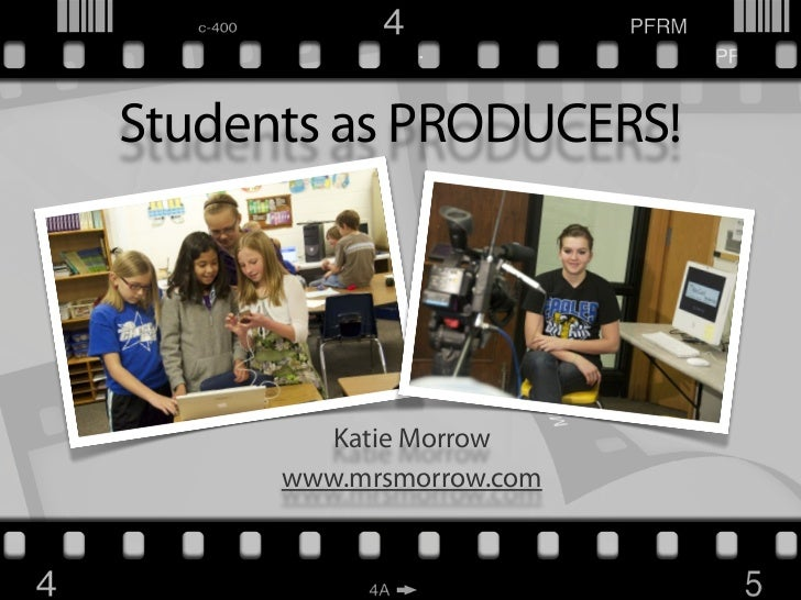 Students as Producers