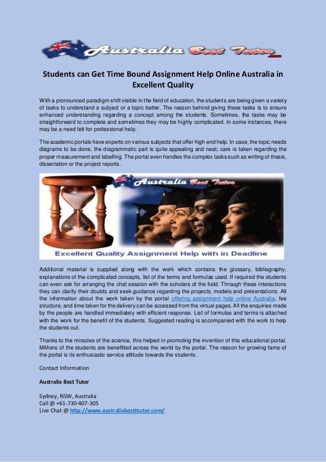 Assignment australia