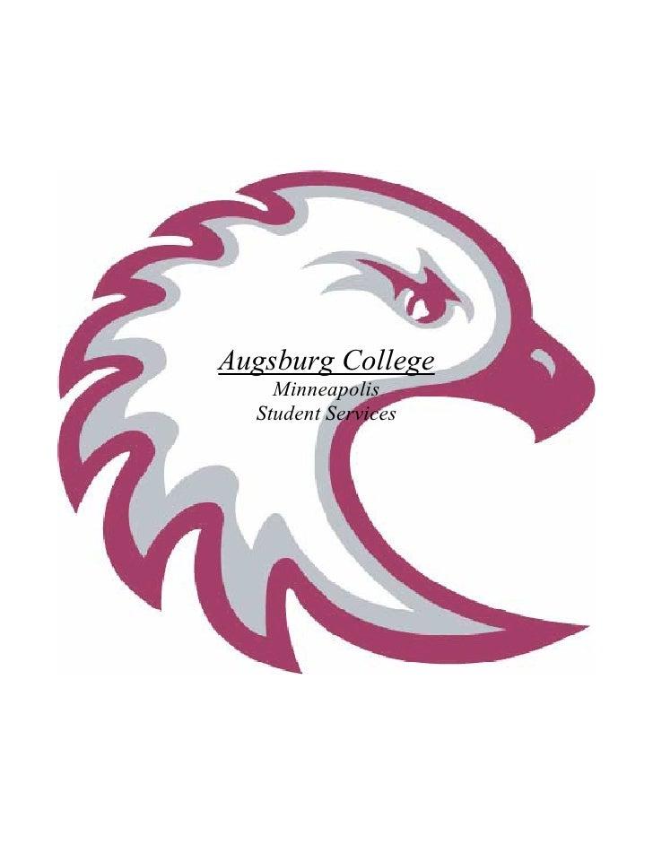 Augsburg College     Minneapolis   Student Services