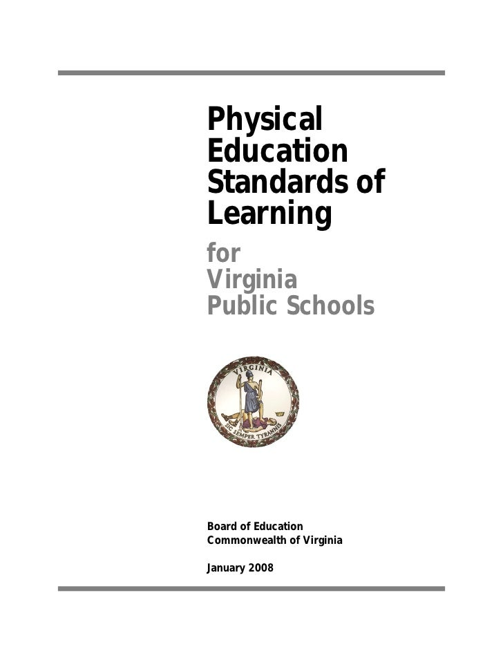 thesis on physical education curriculum Abstract primary current concerns of curriculum theorists in sport and physical education relate to clarification of value orientations underlying curricular decision-making, selection and statement of curriculum goals, identification and organization of programme content, and the process of curriculum change.