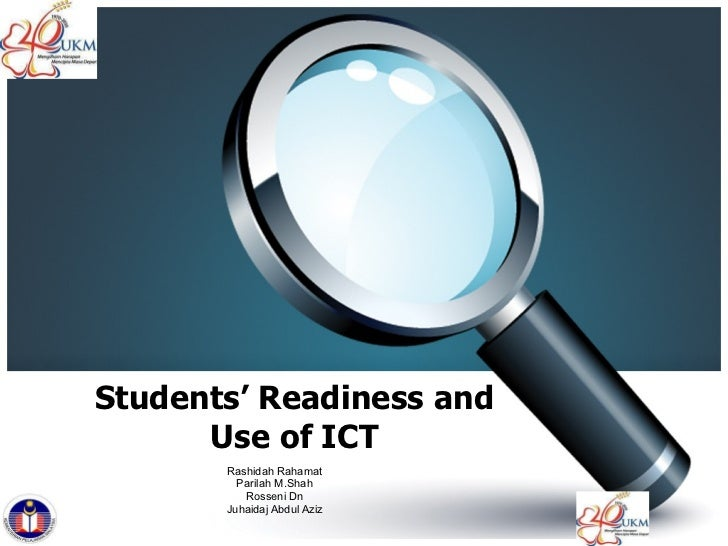 Students' readiness and use of ict
