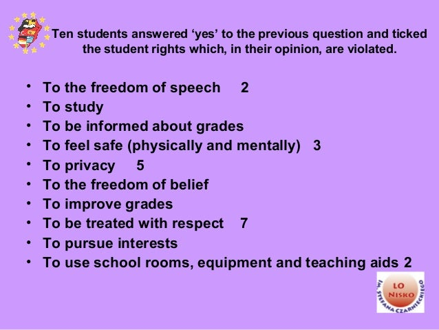"""teachersí and studentsí right to freedom of speech and expression essay Freedom of speech essay as almost a constitution of any country states, """"all citizens shall have the right to freedom of speech and expression""""."""