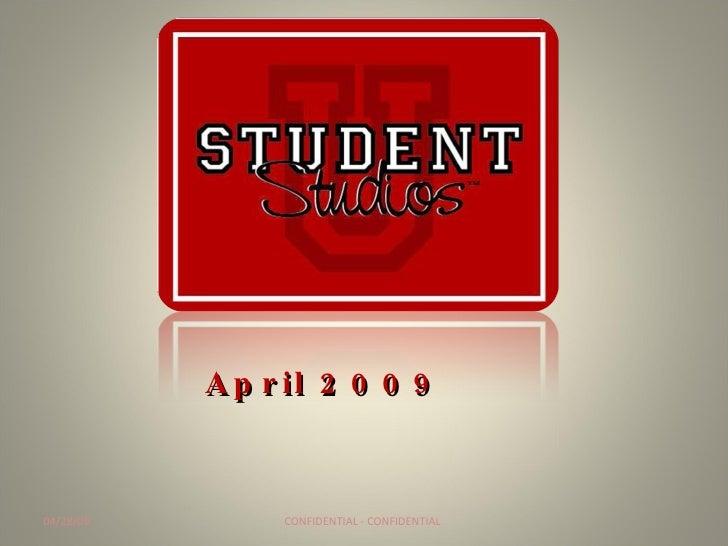 Student Studios Deck