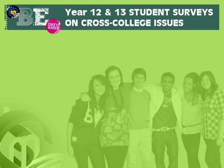 Student survey slides june 2012