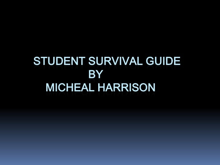 Student survival guide (a)
