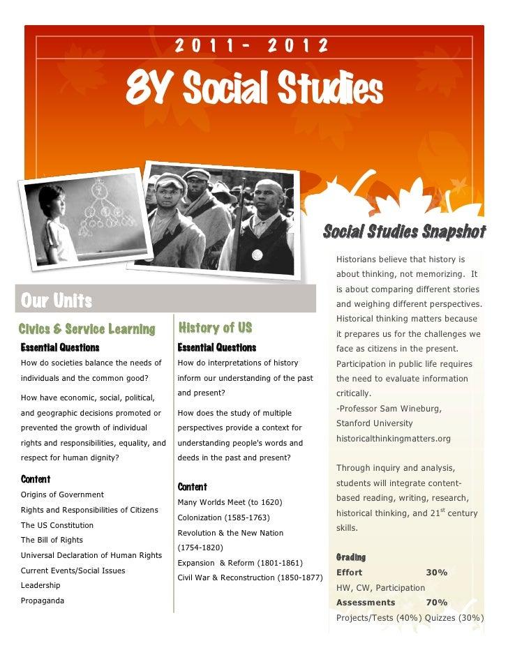 2011-                   2012                               8Y Social Studies                                              ...
