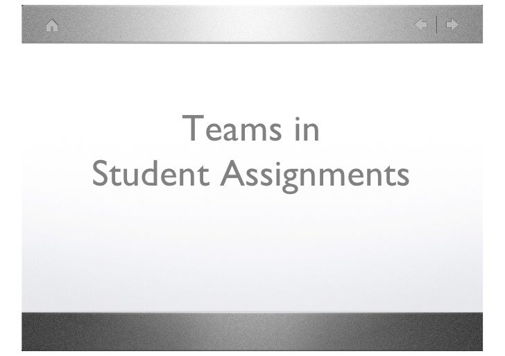 Teams in Student Work<br />www.DrNeilPearson.com<br />