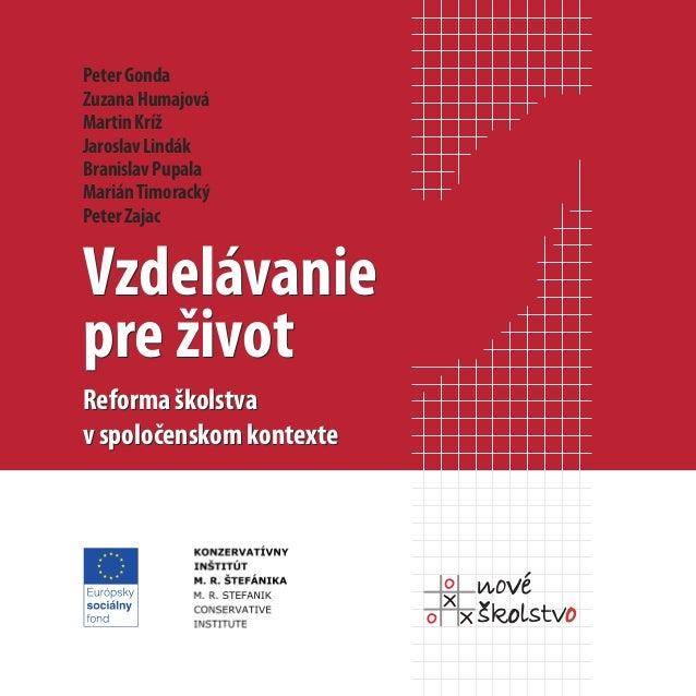 Reforma školstva v spoločenskom kontexte (2008)