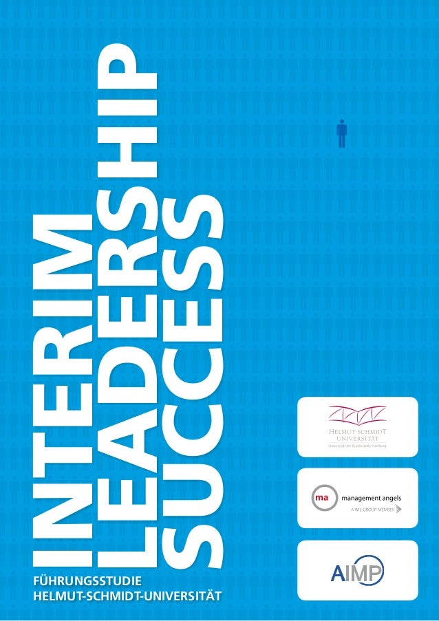Interim Leadership Success Führungsstudie Helmut-Schmidt-Universität