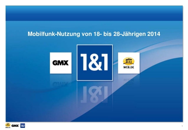 Mobilfunk-Nutzung von 18- bis 28-Jährigen 2014 1