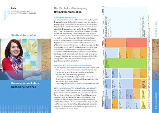 Studieninformation Onlinekommunikation